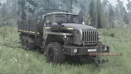 Ural 4320-60M para MudRunner