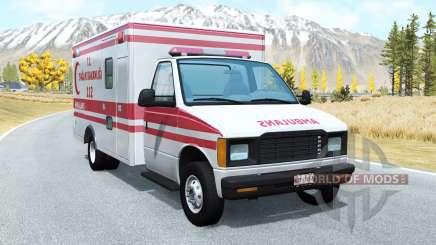 Gavril H-Series Turkish Ambulance skin para BeamNG Drive