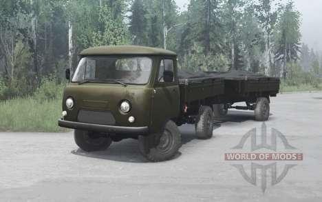 UAZ 452Д 1965 para Spintires MudRunner