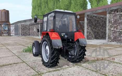 MTZ Bielorrússia 820 controle interativo para Farming Simulator 2017