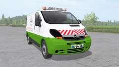 Opel Vivaro Van 2006 assistance technique v1.01 para Farming Simulator 2017