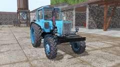 MTZ 80 Bielorrússia luz azul para Farming Simulator 2017