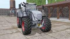 Fendt 927 Vario black v1.2 para Farming Simulator 2017