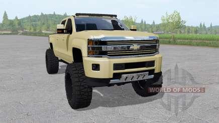 Chevrolet Silverado 2500 HD High Country 2015 para Farming Simulator 2017