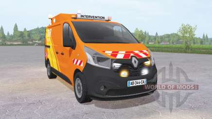 Renault Trafic Van (X82) 2014 DIR Ouest para Farming Simulator 2017