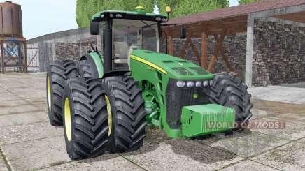 John Deere 8345R GreenStar para Farming Simulator 2017
