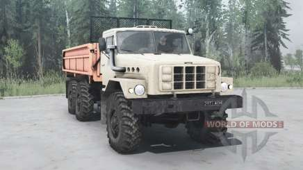 Ural 55223 1987 para MudRunner