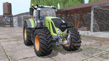 Fendt 933 Vario interactive control v2.0 para Farming Simulator 2017