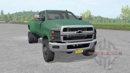 Chevrolet Silverado 4500 HD Crew Cab 2018 para Farming Simulator 2017