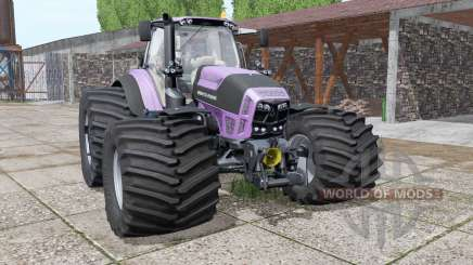 Deutz-Fahr Agrotron 7230 TTV purple para Farming Simulator 2017