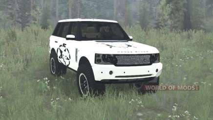 Land Rover Range Rover Supercharged (L322) 2005 para MudRunner