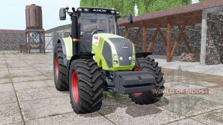 CLAAS Axion 850 animation parts para Farming Simulator 2017