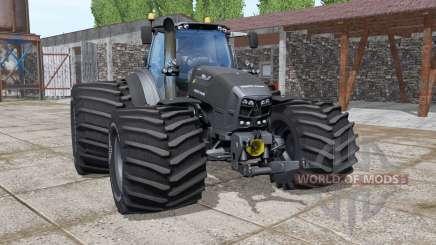 Deutz-Fahr Agrotron 7250 TTV The Beast Black para Farming Simulator 2017