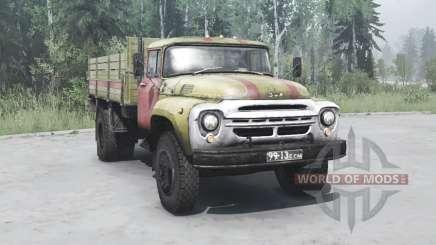 1964 ZIL 130 Luzes de Perigo para MudRunner