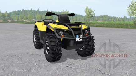 Can-Am Outlander 1000 XT v2.1 para Farming Simulator 2017
