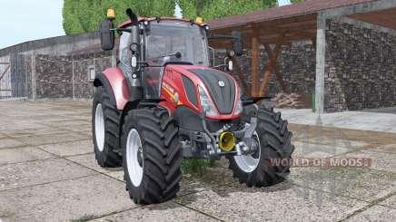 New Holland T5.100 Red Edition para Farming Simulator 2017