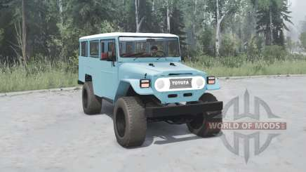 Toyota Land Cruiser Hard Top (HJ47VL) 1980 para MudRunner