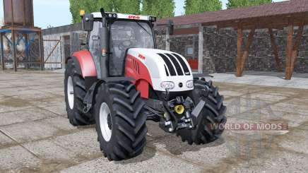 Steyr 6180 CVT new dynamic smoke para Farming Simulator 2017