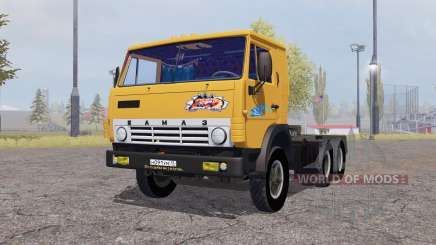 KamAZ 5410 com reboque de 1972 para Farming Simulator 2013
