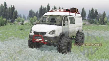 GAZ 2705 Gazela v2.0 para Spin Tires