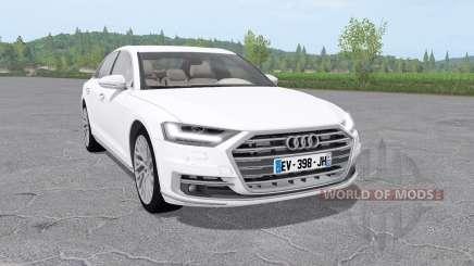 Audi A8 TFSI quattro (D5) 2018 para Farming Simulator 2017