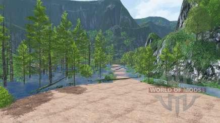 Wetlands Logging para Farming Simulator 2015