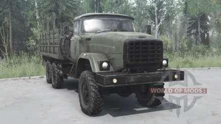 ZIL 6x6 Э133ВЯТ para MudRunner