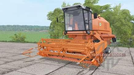 Bizon Rekord Z058 animation parts para Farming Simulator 2017