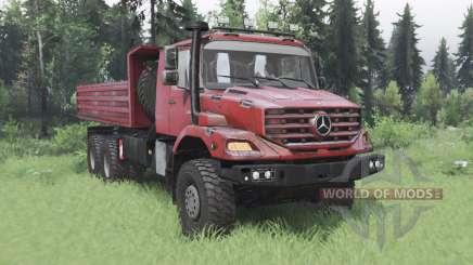 Mercedes-Benz Zetros 3643 A para Spin Tires
