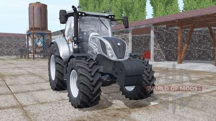 New Holland T6.125 night eagle para Farming Simulator 2017