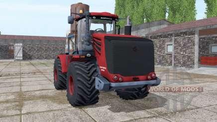 Kirovets 9450 vermelho escuro para Farming Simulator 2017