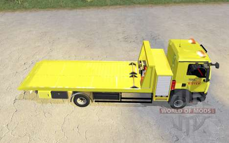 MAN TGM 15.290 abschleppwagen v2.0 para Farming Simulator 2017