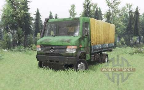 Mercedes-Benz Vario 818 D (Br.670) para Spin Tires