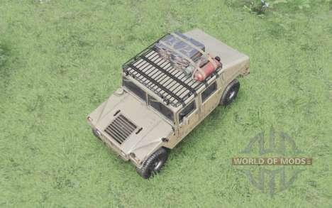 Hummer H1 military para Spin Tires
