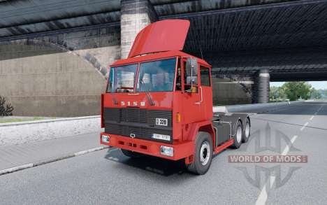 Sisu M-163 para Euro Truck Simulator 2