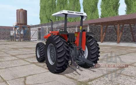 Massey Ferguson 95x bright red para Farming Simulator 2017