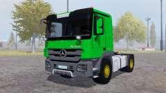 Mercedes-Benz Actros (MP3) green para Farming Simulator 2013