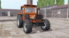 Fiat 1180 DT bright orange para Farming Simulator 2017