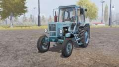 MTZ 80 Bielorrússia 4x4 luz-cinza-azul para Farming Simulator 2013