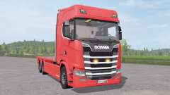 Scania S 420 Flatbed
