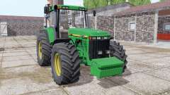 John Deere 8410 front weight para Farming Simulator 2017