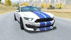 Shelby GT350R Mustang v2.0 para BeamNG Drive