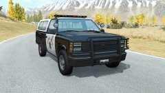 Gavril D-Series California Highway Patrol v1.5 para BeamNG Drive