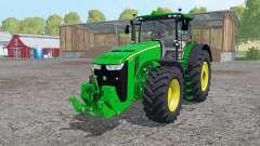 John Deere 8370R interactive control para Farming Simulator 2015
