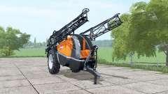 Caruelle-Nicolas Stilla 460 bright orange para Farming Simulator 2017
