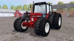 International 1255 twin wheels para Farming Simulator 2015