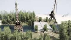 Fábrica abandonada para MudRunner