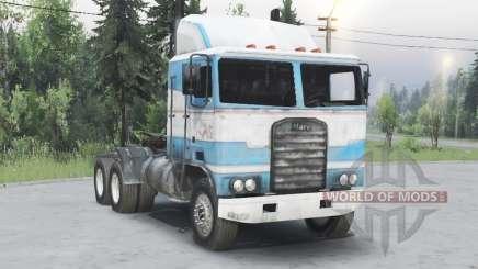 Kenworth K100 para Spin Tires