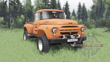 ZIL 130 Gengibre para Spin Tires