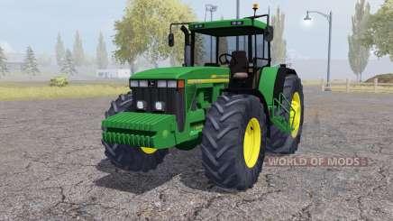 John Deere 8410 front weight para Farming Simulator 2013